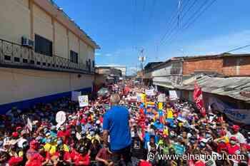 Freddy Bernal permitió la aglomeración de personas durante acto de campaña en Táchira - El Nacional