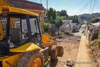 Inician autoridades de Xalapa obras en colonia Veracruz - MÁSNOTICIAS