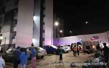 Arde departamento en fraccionamiento de Xalapa - Diario de Xalapa