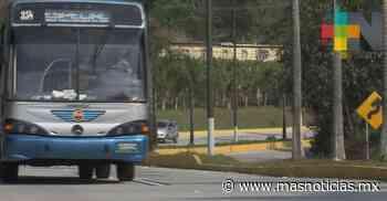 Realizan trabajos de desaceleración en algunos puntos del bulevar Xalapa-Coatepec - MÁSNOTICIAS
