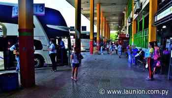 Hubo notorio aumento de pasajeros en la Terminal de Ómnibus de Asunción - La Unión - launion.com.py