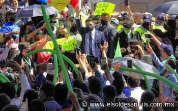[Crónica] La verde asunción al poder - El Sol de San Luis