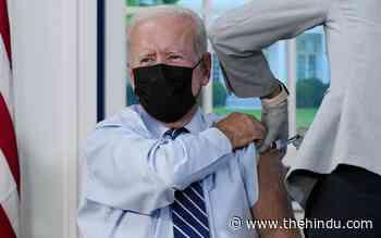 Coronavirus updates | Joe Biden gets COVID-19 booster shot as additional doses roll out - The Hindu