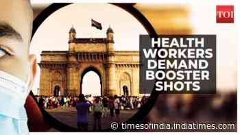 Booster shots: Health workers demand 3rd dose, Centre remains silent