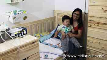 La lucha de un bebé de Monte Grande que tiene una enfermedad que solo padecen 300 en el mundo - El Diario Sur