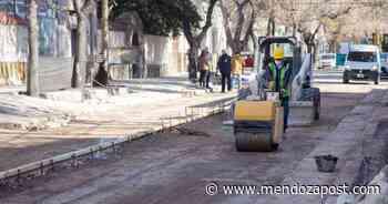 Más trabajos de bacheo y poda en Ciudad - mendozapost.com