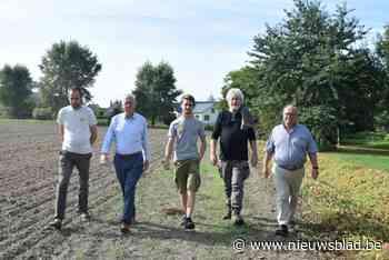 """Oude voetweg aan Bos t' Ename in ere hersteld: """"Trage wegen worden massaal herontdekt"""""""