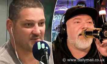 Radio host Brendan Fevola threatens Kyle Sandilands after on-air sledge