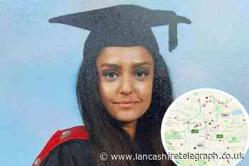 Sabina Nessa: 'Most dangerous' places to walk alone in Blackburn