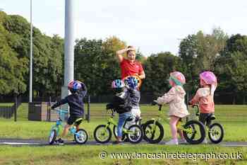New bike track opens in Witton Park to help teach young people how to ride safely