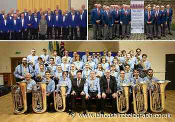 Brass band and male choirs finally set to perform fundraiser concert after Covid cancellations