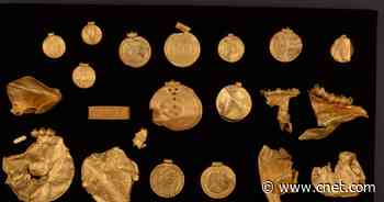 Gold rush! First-time metal-detector user uncovers 6th century golden hoard     - CNET