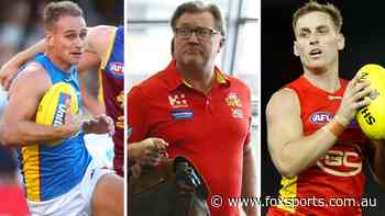 Two players, draft picks on the table as Gold Coast Suns reveal busy trade period plans