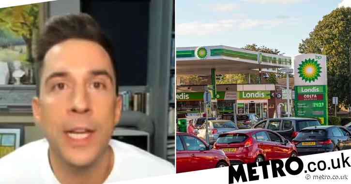 Russell Kane slams drivers panic-buying fuel on GMB as army put on standby: 'What is wrong with people?'