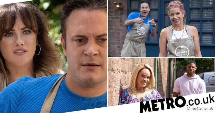 Hollyoaks spoilers: 20 new images reveal shock kiss, huge war and passion