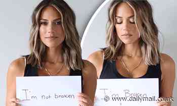 Jana Kramer reveals that she was both emotionally and physically abused in past relationships.
