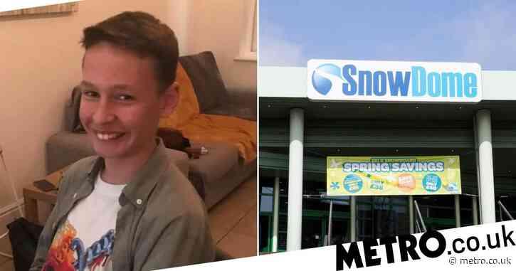 Boy killed in 'freak accident' at indoor ski slope named as Louis Watkiss, 12