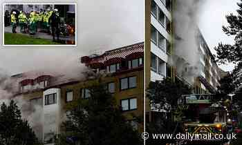 25 injured and more than 100 evacuated after explosion in an apartment block in Gothenburg, Sweden