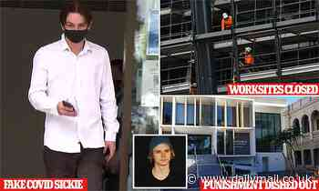 NSW Tradie pleads guilty to texting his boss that he had Covid to get off work is finally punished