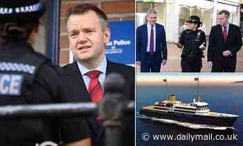 Labour would scrap PM's 'vanity yacht' to pay for crime crackdown