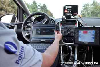 Vijftien bestuurders onderschept tijdens snelheidscontrole