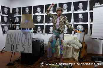 Wie Miene Gruber sein Publikum in Schondorf coacht