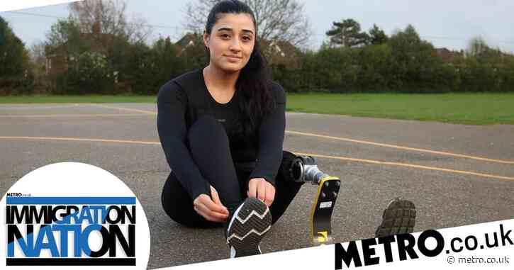 After losing my leg in a bomb attack, seeking refuge in the UK gave me hope
