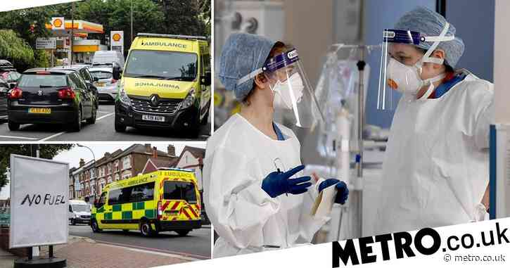 Key workers could get priority access to fuel to keep NHS going