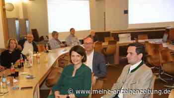 Stimmungen in Dachau vom Bundestags-Wahlabend im Landratsamt und im Zieglerbräu