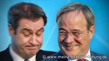 Bundestagswahl-Umfrage: So erfolgreich wäre die Union mit Söder statt Laschet gewesen