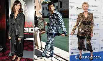 10 celebrities who wore pajamas in public with pride - HOLA USA