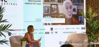 Jane Goodall pone el broche de oro a Mercedes-EQ Welife Festival: «Para proteger el medio ambiente hay que ali - Mujerhoy.com