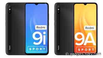 Redmi 9i Sport, Redmi 9A Sport Smartphones Launched in India: Price, Specifications