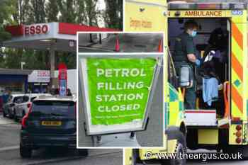 Fuel crisis: Secamb pleads with drivers not to panic buy