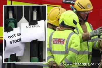 Fuel crisis: East Sussex fire services boss slams 'dangerous' panic buying