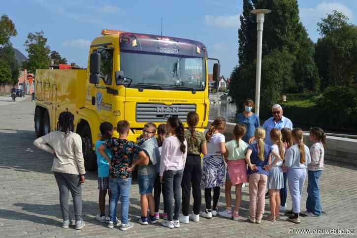 """Basisschool Leieparel neemt deel aan Strapdag: """"Veilig naar school gaan kan je leren"""""""