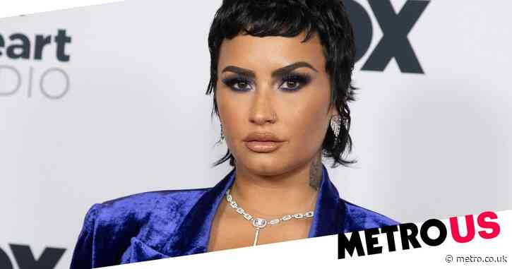 Demi Lovato claims they had 'beautiful' alien encounter with 'floating blue orb'