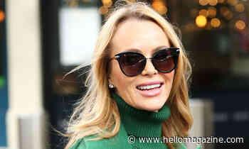 Amanda Holden channels Victoria Beckham in figure-flattering jeans