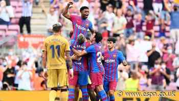 Prodigious Ansu, Gavi give Barca hope of a brighter future