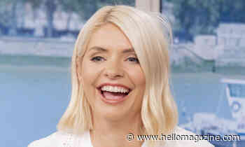 Holly Willoughby looks angelic in all-white outfit on This Morning
