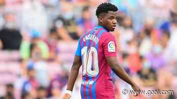 Ansu Fati won't be rushed back into Barcelona starting XI despite scoring return against Levante, insists Koeman