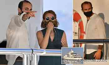 The Crown's Khalid Abdalla films scenes as Diana's lover Dodi Fayed on superyacht in Marbella