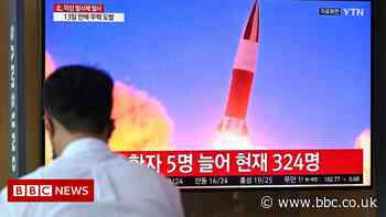 North Korea fires missile, says South's military