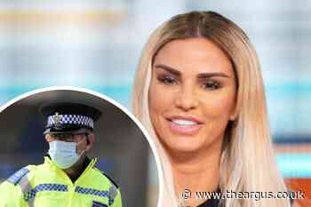 Katie Price rushed to hospital after 'drink-drive' crash near Partridge Green