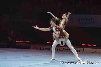 15-jarige Helena wil naar de World Games in het acrogymnastiek
