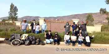 Emprendedores de Valle de Guadalupe retiran toneladas de basura en zonas turísticas de Ensenada - Yahoo Noticias