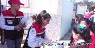 Guadalupe Rodríguez, directora de Protección Civil municipal de Campeche - Yucatán a la mano