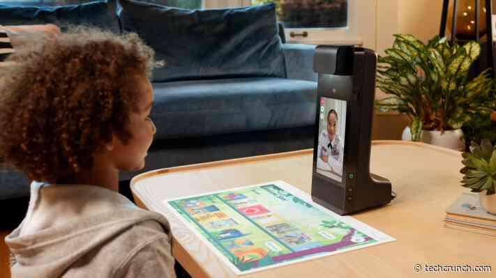 Amazon introduces Amazon Glow, an interactive, video calling device for kids and families