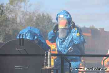 Theft of chemical from rail car to make meth. Simulation shows it could happen here