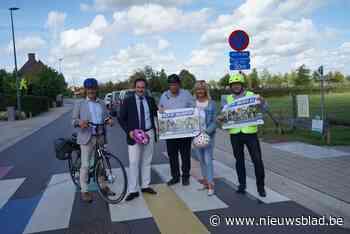 """""""Helm op, snelheid af"""": Staden lanceert nieuwe verkeerscampa... (Staden) - Het Nieuwsblad"""